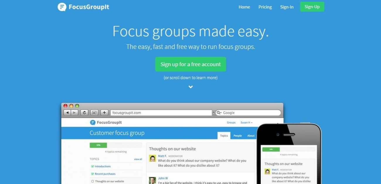 focusgroupit