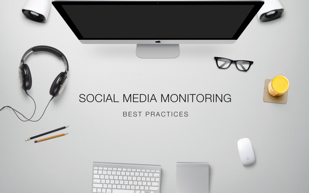 best practices social media monitoring