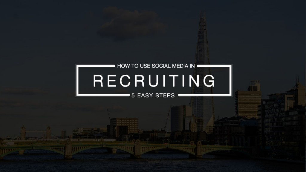 social media as a recruiting tool Continue reading 5 companies that have nailed social media for recruiting  here are five companies that have nailed social media for recruiting.