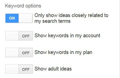 keyword planner in keyword research1