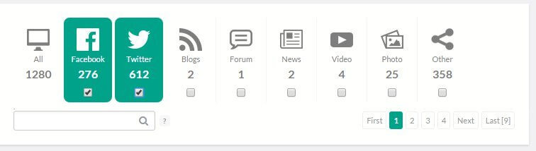 sources filter brand24 dashboard