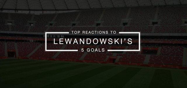 Top Internet Reactions to Lewandowski's 5 Goals in 9 Minutes