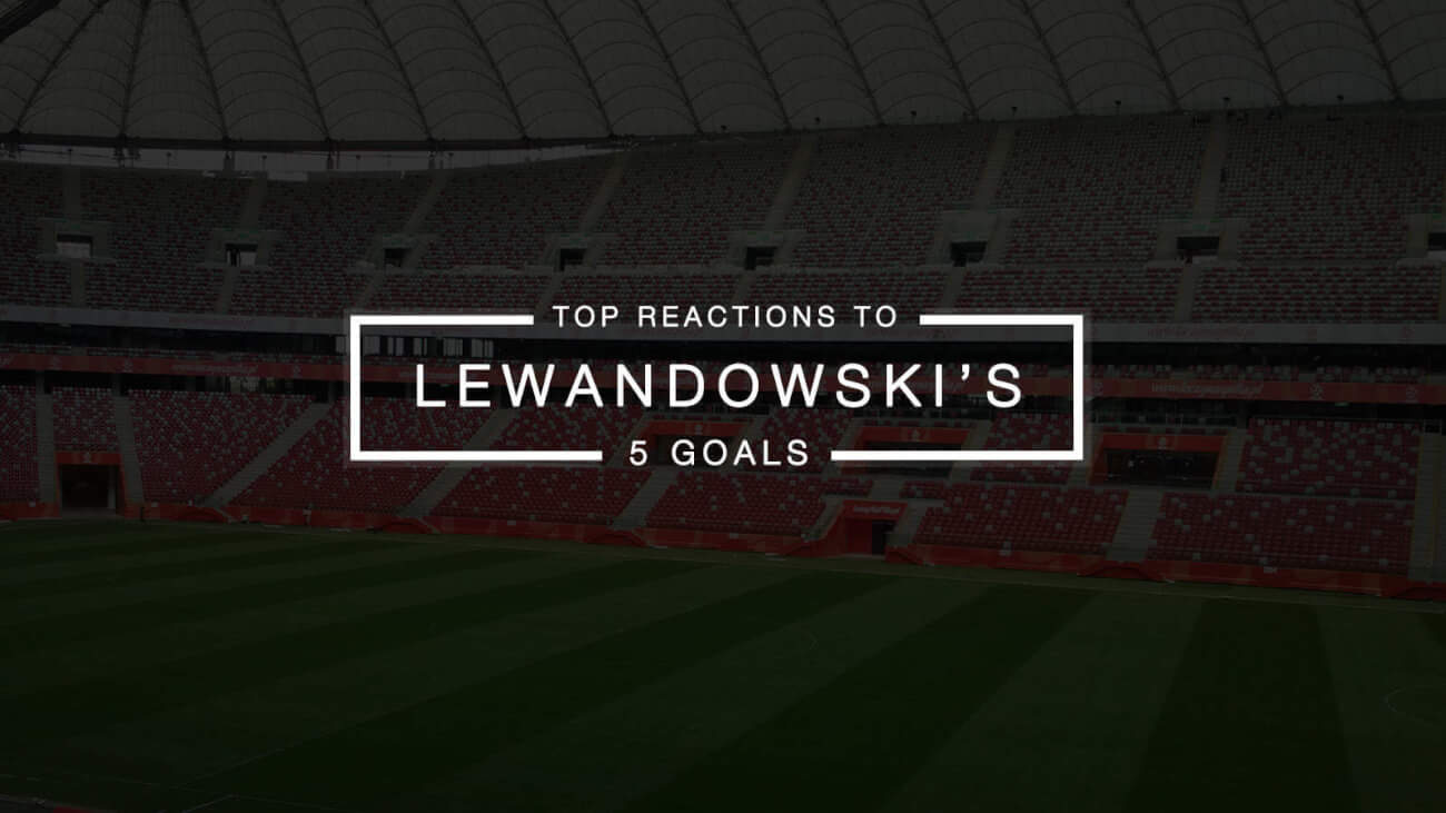 Top Social Media Reactions to Lewandowski's 5 Goals in 9 Minutes