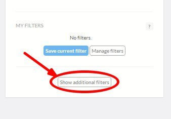 show additional filters brand24