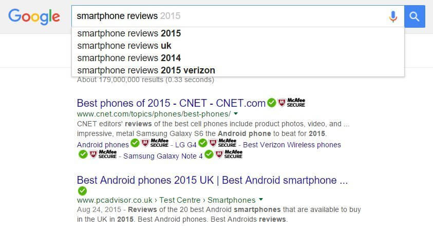 smartphones reviews google search