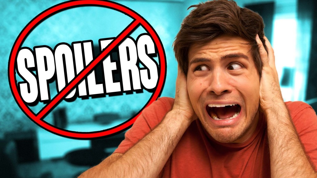 Only 10% of people use Spoiler Alerts! The world burns!