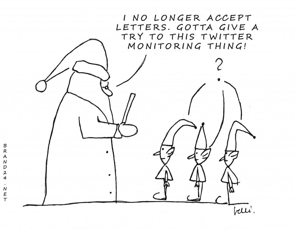 social media monitoring revolution (cartoon)