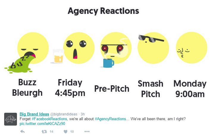 agency reactions