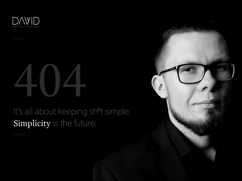 our expert Dawid Tkocz, UX/UI Designer and Front End Developer here at Brand24