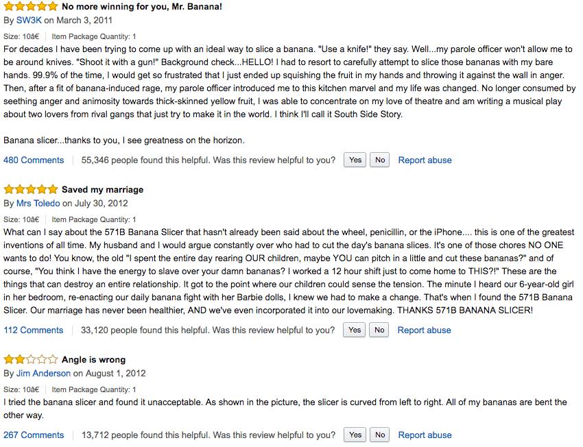 amazon online reviews