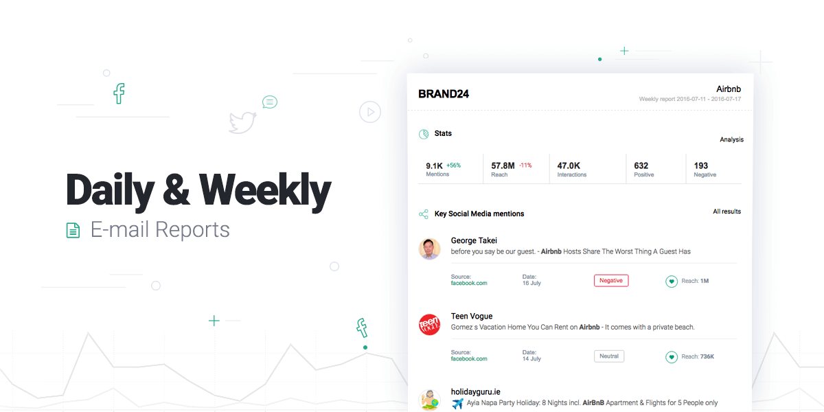 Introducing: Daily & Weekly Email Reports