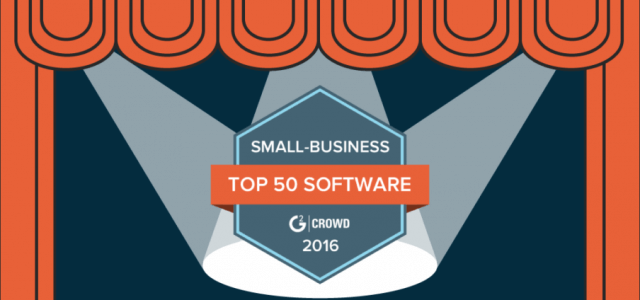 G2 Crowd Top 50 Small-Business Software Products – Guess Who's Been Featured!