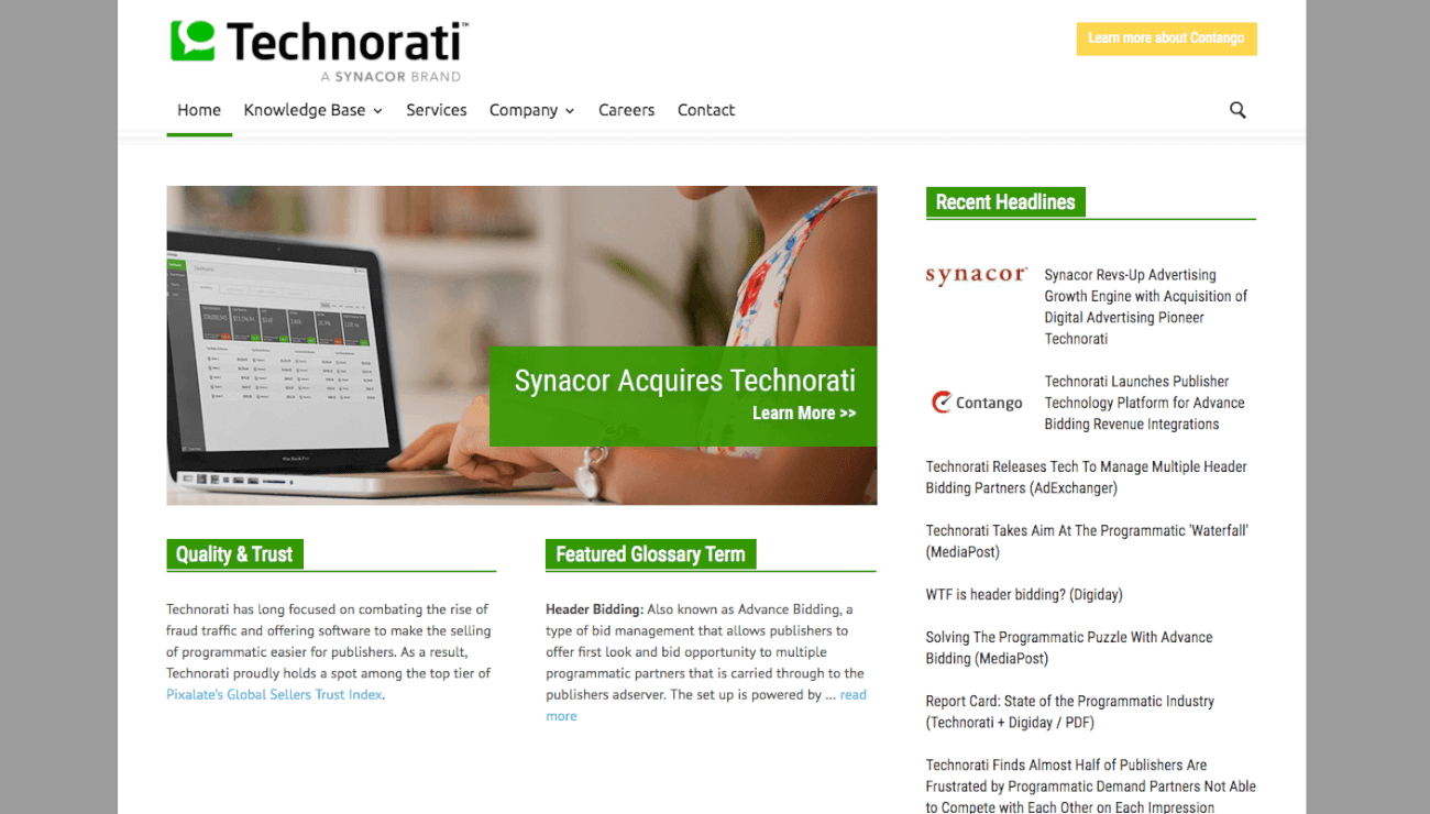 technorati.com من أين تحصل على آخر أخبار التكنولوجيا