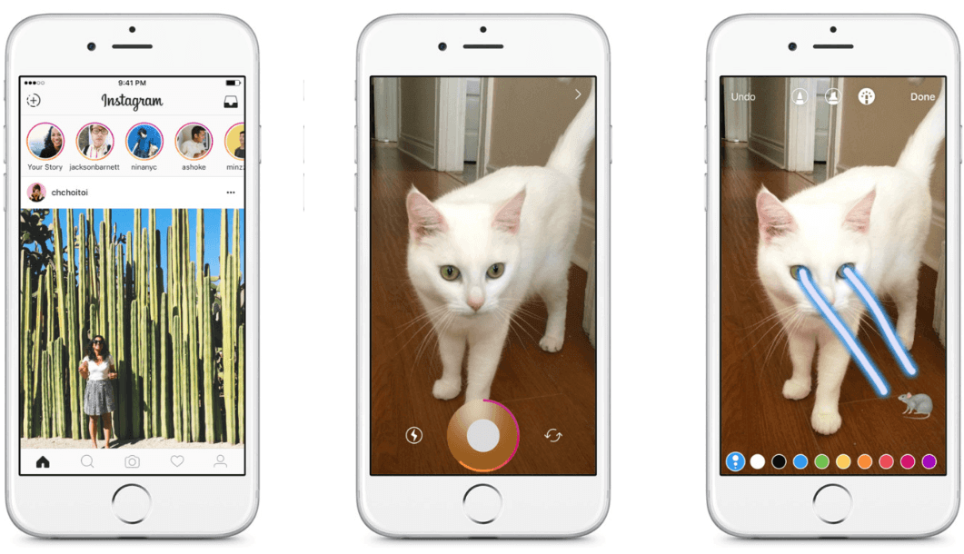 differences between snapchat and instagram stories