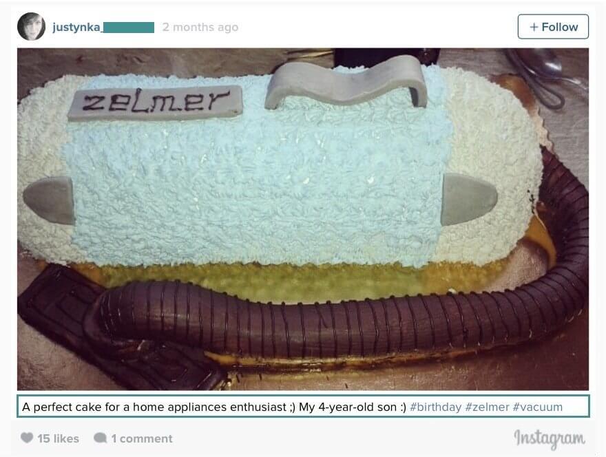 zelmer-birthday-cake