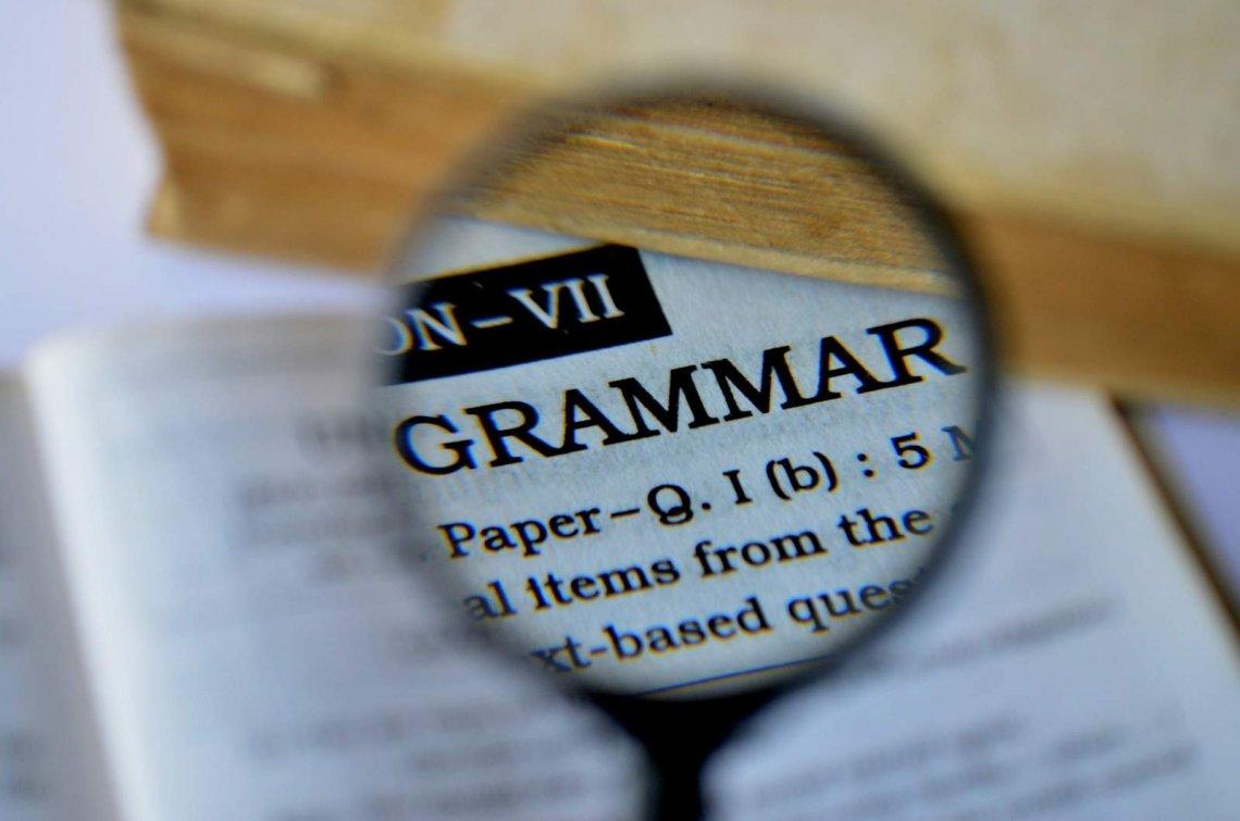 7. Poor grammar and bad taste.