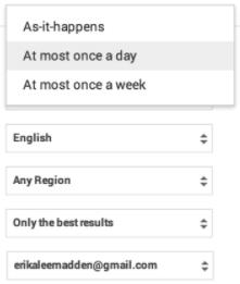 google alerts alternative