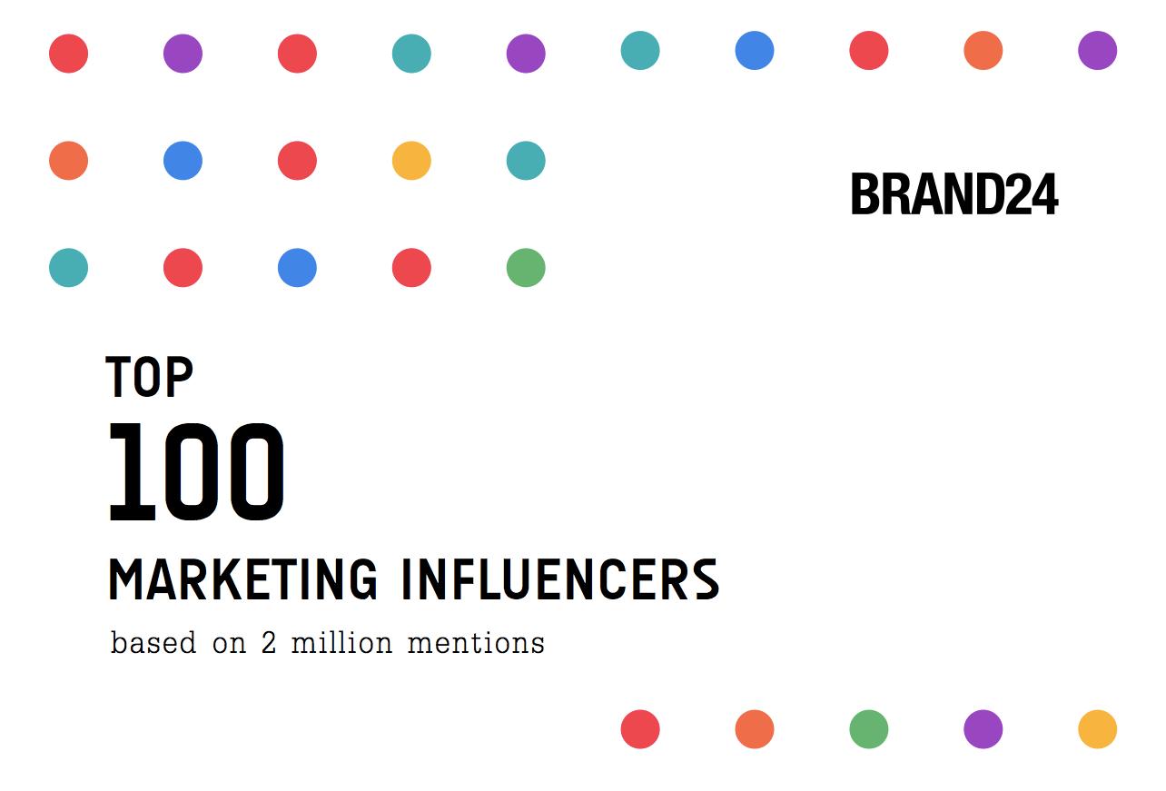 Top 100 Marketing Influencers Report