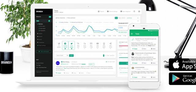 Using Brand24 Mobile App for Social Media Monitoring
