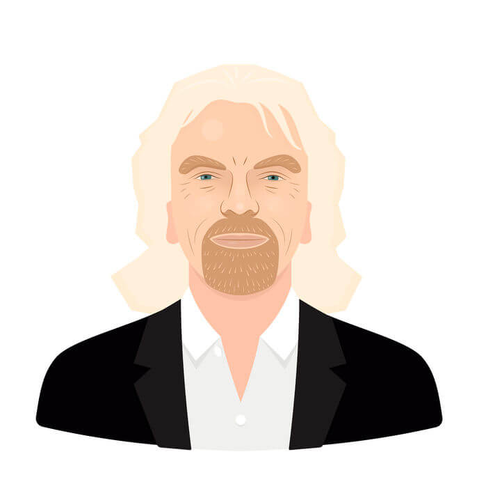 Image of Richard Branson talking about what brand reputation is