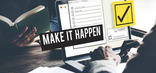 How to Make Good on Your New Year's Resolutions (failproof plan)