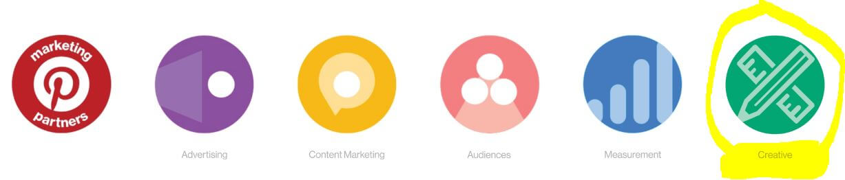 Pinterest Marketing Partners, including new Creative Specialty