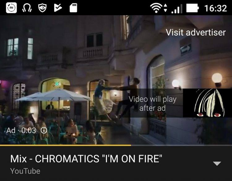 YouTube Non-Skippable Ad