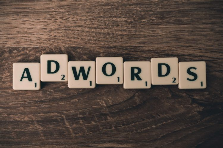 letters from a game spelled to a word Adwords