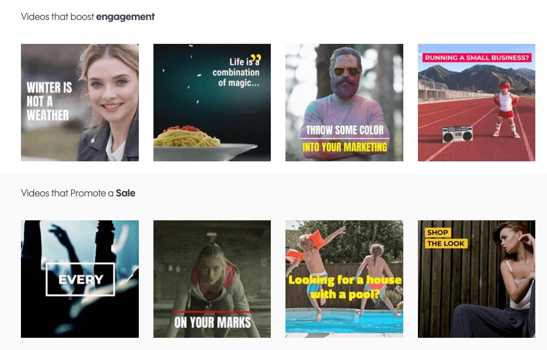 a print screen from Promo.com, a top digital marketing tool