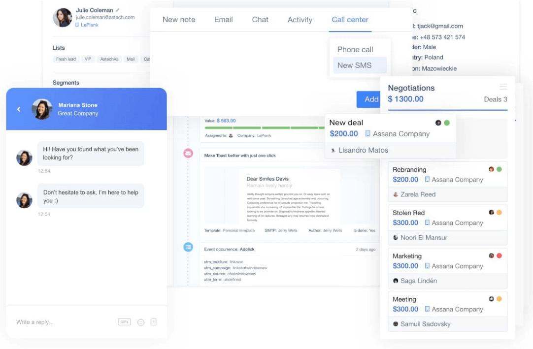 print screen from User.com, a top digital marketing tool