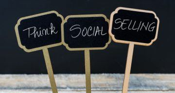 An image for the post about how do to social selling