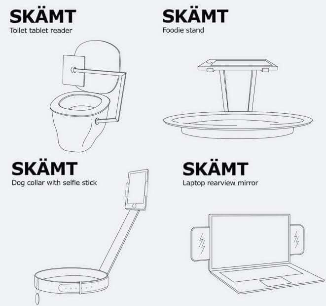 IKEA april fools joke foodie stand