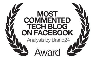 Most commented tech blog on facebook