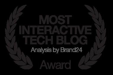Most interactive tech blog