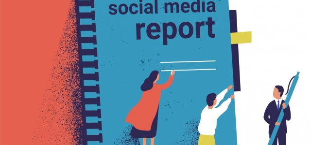 How to create a social media report?