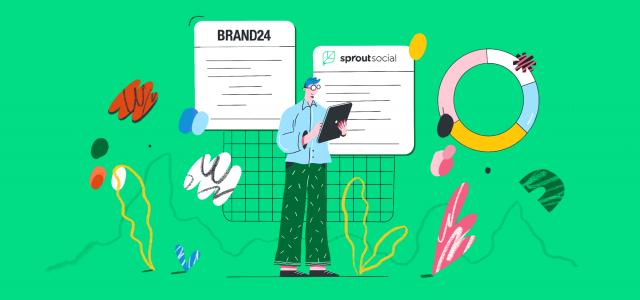 Sprout Social alternatives: Brand24