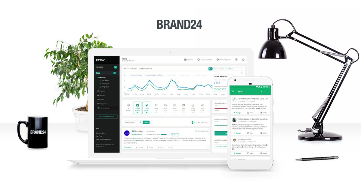 Brand24 - Media Monitoring Tool